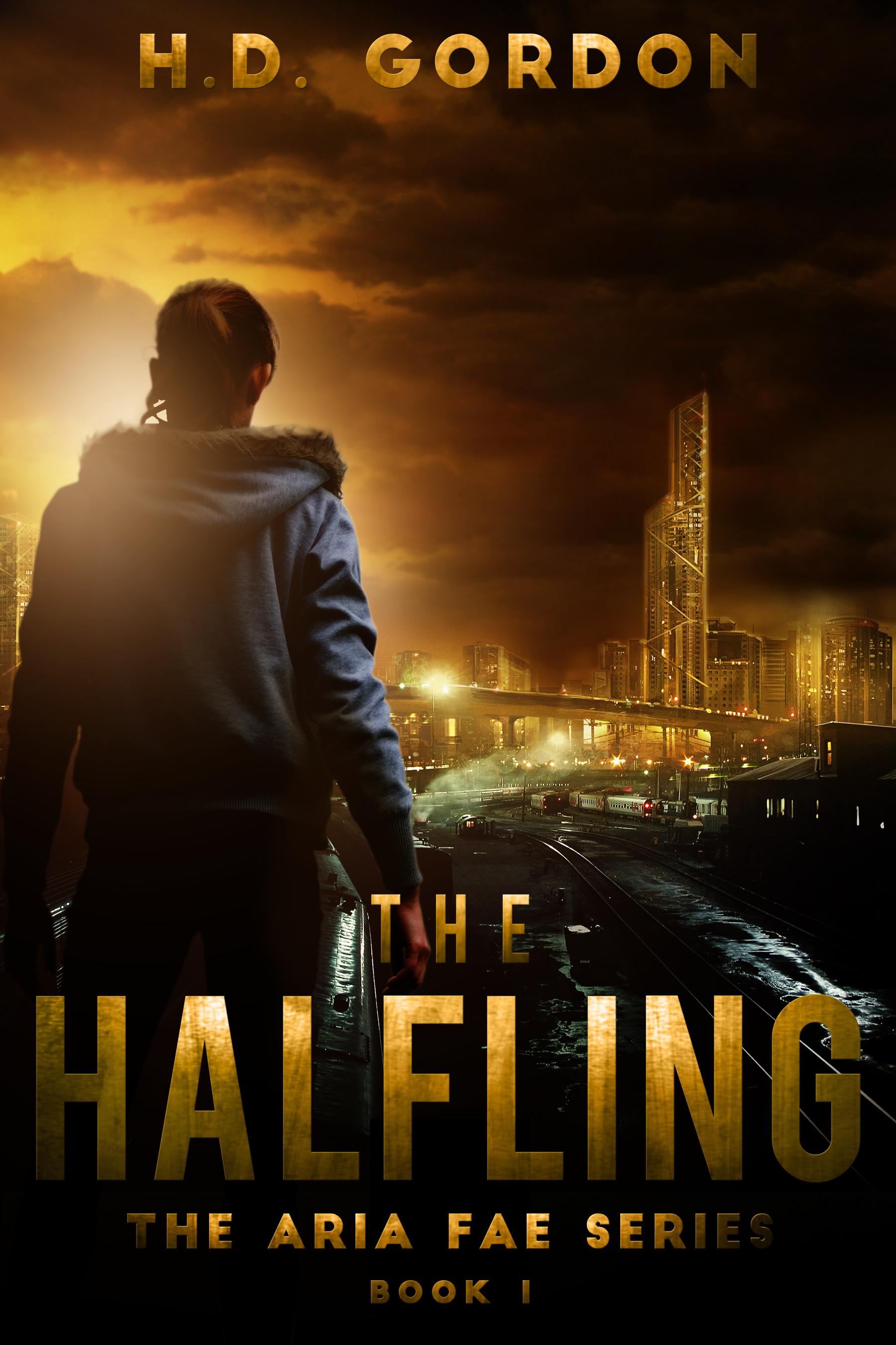 HANDOVER ebook cover The Halfling 6x9in