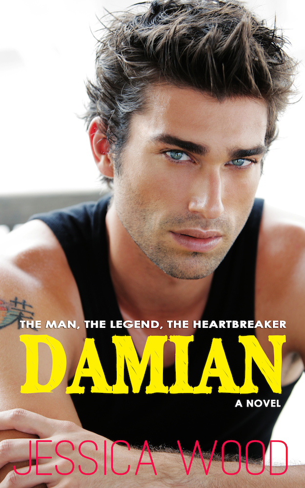 Damian Cover - Cover Reveal
