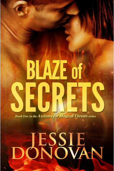Blaze of secrets cover