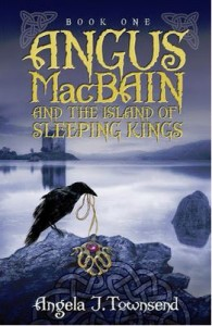 Angus MacBain and the Island of Sleeping Kings Cover